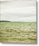 Distant Sails Metal Print