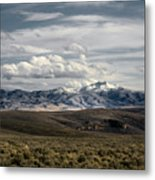 Distater Peak Road -february-0723-r1 Metal Print