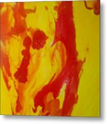 Distortion Metal Print