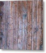 Distressed Door Metal Print
