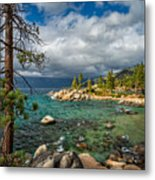 Divers Cove At Lake Tahoe Metal Print