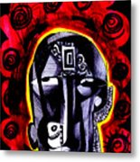 Diversified Face Metal Print