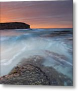 Divided Tides Metal Print