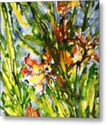 Divine Blooms-21061 Metal Print