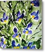 Divine Blooms-21169 Metal Print