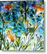 Divine Blooms-21180 Metal Print