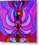 Divine Feminine Activation Metal Print