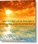 Divine Light - Ss1200b Metal Print