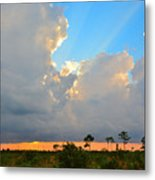 Divinely Inspired Sunset Metal Print