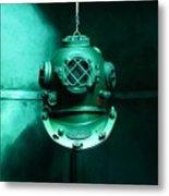 Diving Helmet Metal Print