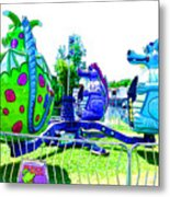 Dizzy Dragon Ride 2   Metal Print