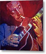 Django Sweet Lowdown Metal Print
