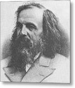 Dmitri Mendeleev, Russian Chemist Metal Print