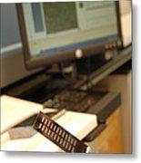 Dna Microarray Metal Print