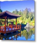 Do-00003 Shinden Style Pavilion Metal Print