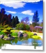 Do-00010 Turtle Island Waterview Metal Print