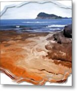 Do-00016 Pearl Beach Metal Print