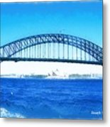 Do-00057 Harbour Bridge Metal Print