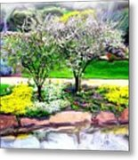 Do-00066 Lake Walk Metal Print