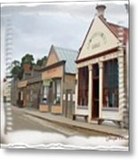 Do-00098 Town Centre - Sovereign Hill Metal Print
