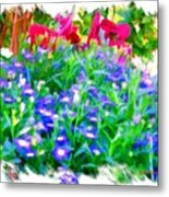 Do-00221 Flowers Metal Print