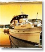 Do-00234 Lady Kendall In Sunset Metal Print