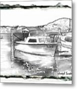 Do-00250 A Boat Metal Print