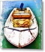 Do-00277 Boat In Hardys Bay Metal Print