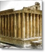 Do-00311 The Temple Of Bacchus Baalbeck Metal Print