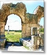 Do-00409 View On Arena In Tyr Metal Print