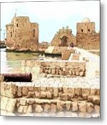 Do-00423 Citadel Of Sidon Metal Print