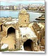 Do-00428 Citadel Looking On Sidon Metal Print