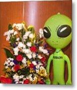 Do Aliens Get Hay Fever Metal Print