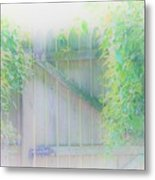 Do I Want To Leave The Garden Metal Print