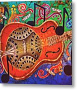 Dobro - Slide Guitar Metal Print