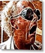 Doc Brown Mistical Metal Print