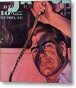 Doc Savage Poison Island Metal Print