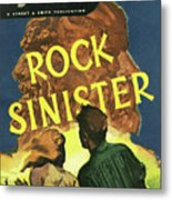Doc Savage Rock Sinister Metal Print