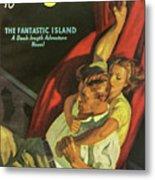 Doc Savage The Fantastic Island Metal Print