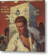 Doc Savage The Man Of Bronze Metal Print