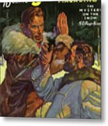 Doc Savage The Mystery On The Snow Metal Print