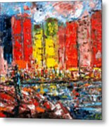 Dock By The Bay Metal Print