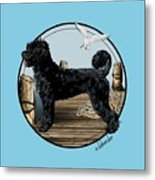 Dock Dog  Metal Print