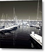 Dock In The Port Metal Print