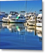 Dock O' The Bay Metal Print