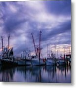 Dock Of Bay Metal Print
