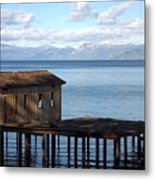 Dock Of Dreams South Lake Tahoe Ca Metal Print