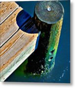 Dock Metal Print by Robert Smith