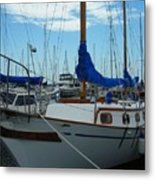 Docking Bay Metal Print