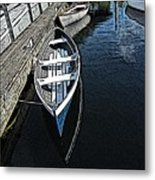 Dockside Quietude Metal Print